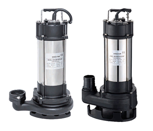 What are the precautions for long-term use and maintenance of sewage pumps