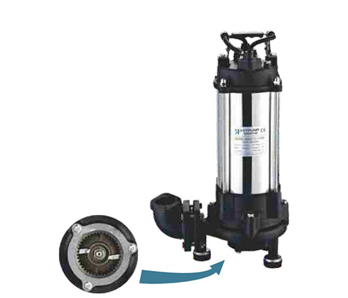 SUBMERSIBLE SEWAGE PUMP WJ