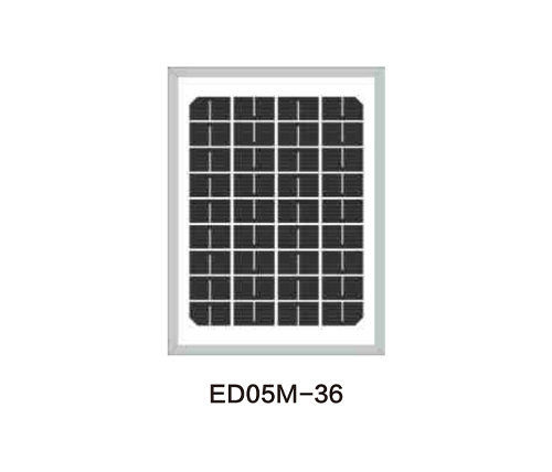 Solar Panels for Solar Pump-ED05M-36