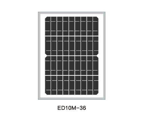 Solar Panels for Solar Pump-ED10M-36