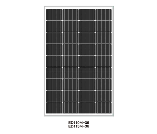 Solar Panels for Solar Pump-ED110M-36/ED115M-36