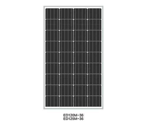 Solar Panels for Solar Pump-ED120M-36/ED125M-36