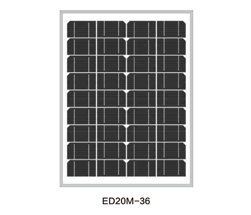 Solar Panels for Solar Pump-ED20M-36