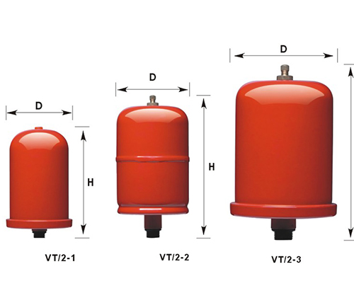 VT/2 Series vertical tank