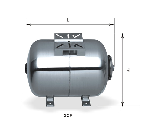 SCF Series horizontal tank