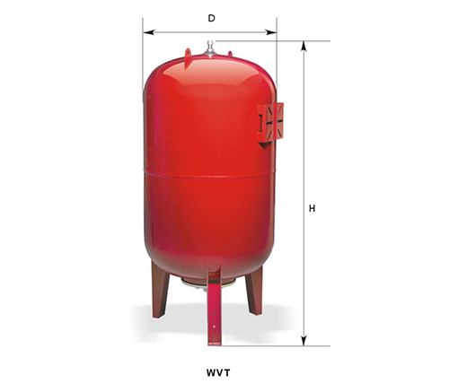 WVT Series horizontal tank